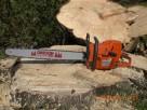 Cięcie drzew i drewna piłą spalinową - 2
