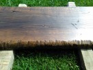 Blaty ze starego drewna Stare deski Loft Stół Industrialny - 7