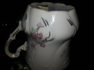 Filizanka kubek porcelana rozowa - 3