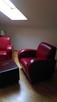 Sprzedam dwa fotele skórzane , czerwone - 4