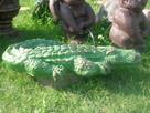Krokodyl figurka oczko wodne fontanna rzeźba - 2