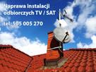 Anteny SAT i telewizji naziemnej. Montaż, regulacja, naprawa