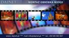 Montaż obróbka edycja filmów wideo nagrań video