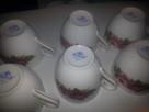 6 filizanek  porcelana Chodziez - 4