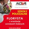 Florysta z aranżacją ceremonii ślubnych W ROK NOVA Gliwicach
