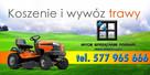 Koszenie trawy chwastów wywóz odpadów zielonych Poznań FV