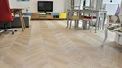 Stylowe podłogi drewniane, deska ręcznie stylizowana - 7