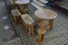 Stoły granitowe, stoliki, ogród - 1