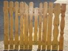 Sztachety drewniane świerkowe