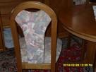 Krzesla rustikalne,debowe. - 4