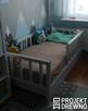 DREWNIANE klasyczne łóżeczko dla dzieci ScandiBed