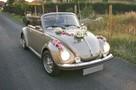 Cabriolet VW Garbus Auto Ślub