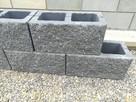 Pustak betonowy elewacyjny mur ściana ogrodzenie