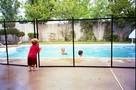 Ogrodzenie zabezpieczające do basenu