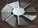 Krzyżak z blaszkami, kompletny, do wygładzania betonu NOWOŚĆ - 3