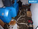 Sprzątanie po wybiciu kanalizacji zalaniu Brzesko - 6