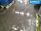 Sprzątanie po wybiciu kanalizacji zalaniu Brzesko - 1