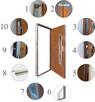 Drzwi wejściowe SP 55 MM GALA 81-83 INOX - 3