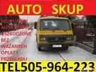 SKUP AUT t.505964223 ZŁOMOWANIE AUT WEJHEROWO, Luzino