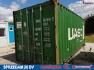 Sprzedam używany kontener magazynowy, morski 20 DV ŁÓDZ