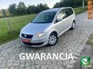 Volkswagen Touran z Niemiec Opłacony z Gwarancją 1.6 MPI 7 Osobowy Serwisowany Zadbany !