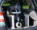 Aluminiowe szyny podjazdowe, rampy, podjazdy 213cm - 4