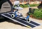 Aluminiowe szyny podjazdowe, rampy, podjazdy 213cm - 1