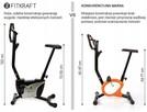 Rower treningowy stacjonarny ALFA FITKRAFT ekran LCD - 8% !! - 7