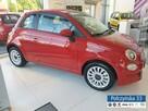 Fiat 500 1,0 Hybrid 70 KM | Lounge | Pak.City |Czerwony Passine | 2020