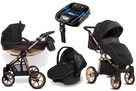 Wózek Baby Active Mommy Glossy rose Gold 4w1