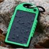 Wodoodporny power bank solarny 5000mah 2 x usb - 2