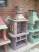 Kominek Ogrodowy Grill betonowy ozdoba ogrodowa - 1