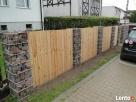 Efektowne ogrodzenie gabionowe - kosze metalowe z kamieniem! Gdańsk