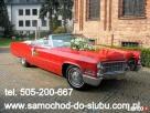Zabytkowy Cadillac De Ville,auto do ślubu,samochód na wesele