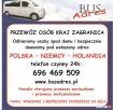 przewozy osób do Holandii z Warszawy