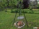 GRILL trójnóg + ruszt gril ogrodowy z rusztem od producenta Siepraw