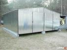 Garaż Blaszany 6x6 Dwuspadowy WZMOCNIONY PRODUCENT