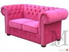 Sofa Classic Chesterfield 2-osobowa plusz - 2