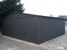 Garaż Blaszany 6x6 Dwuspadowy PRODUCENT PROFIL - 1