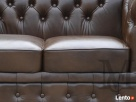 Sofa Classic Chesterfield 2-osobowa - 100% skóra naturalna - 5