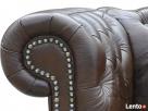 Sofa Classic Chesterfield 2-osobowa - 100% skóra naturalna - 2