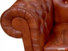 Sofa Mark Chesterfield 2-osobowa - 100% skóra naturalna Katowice
