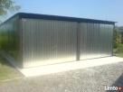 Garaż Blaszany 6x6 Bramy PRODUCENT - 2