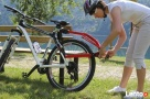 Hol rowerowy drążek holowniczy Peruzzo Trail Angel - 4