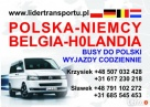 Busy do Niemiec i Holandii, Przewóz osób do Niemiec,Holandii Rumia