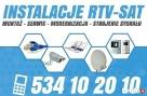 INSTALACJE TV montaż serwis ANTEN sat dvb-t TELEWIZJA 24h/7 - 1