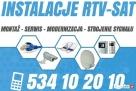 Anteny Telewizja sat dvb-t montaż serwis instalacja ANTEN