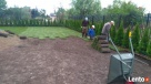 wycinka drzew, glebogryzarka, areacja, wertykulacja Raszyn