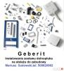 SERWIS GEBERIT spłuczka podtynkowa- montaż,naprawa,wymiana. - 2