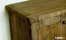 Komoda z litego drewna - ręcznie rzeźbiona - 3